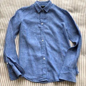 J. Crew Irish linen shirt